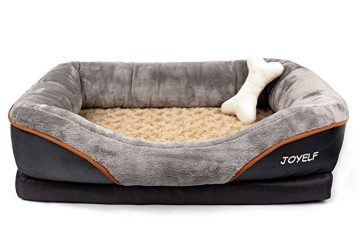 JOYELF Orthopedic Dog Bed memory Foam Pet Bed Review