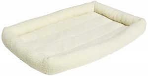 Padded dog bed