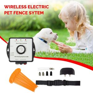 wireless electric pet fence system