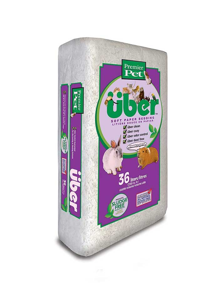 Premier Pet Premium Uber Paper Bedding Cozy and Fun for Small Animal Bedding