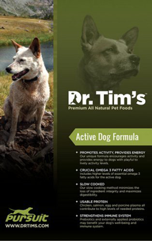 Active dog formula dog food