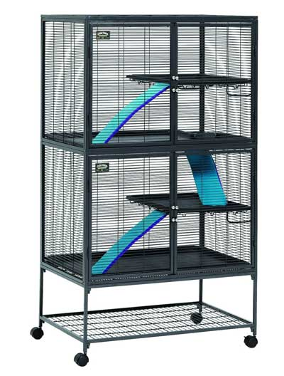 Midwest Critter Two Story Nation Double Rat Cage