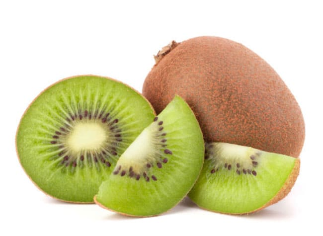 kiwi serving for dogs