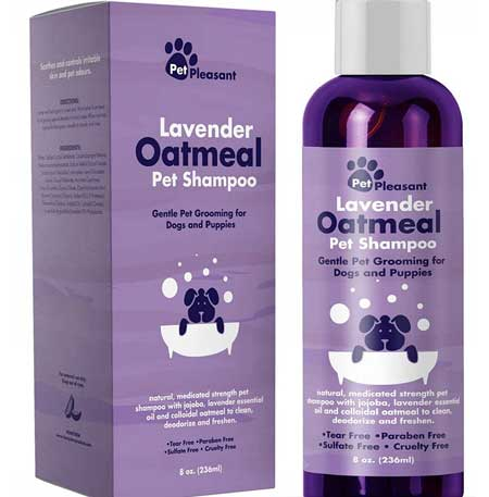 Colloidal Oatmeal Dog Shampoo by Pet Pleasant