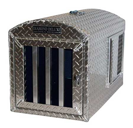 Diamond Deluxe - Aluminum Single Hole Dog Box