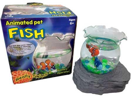 Domargon Animated Pet Fish