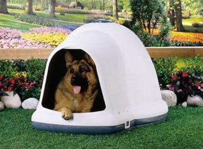 Petmate Dogloo with Microban Igloo Dog House