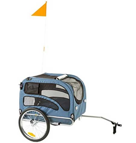 Rage Powersports 2-in-1 Pull-Behind Dog Bike Carrier