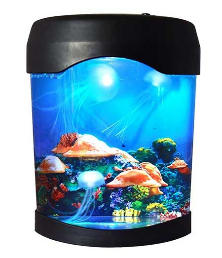 fake fish tanks for cats