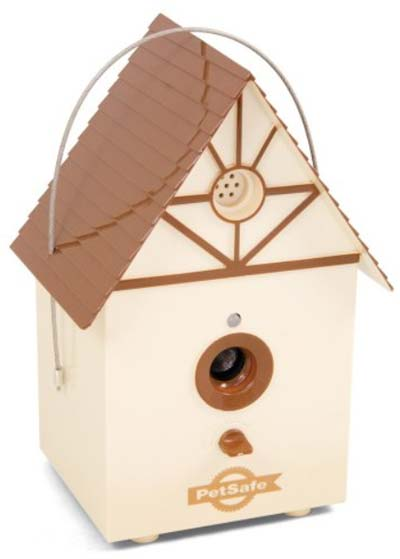 birdhouse that stops dogs from barking