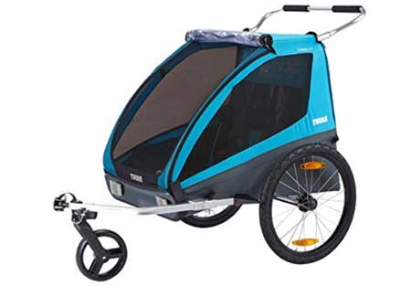 Thule Coaster XT Bicycle Best Dog Bike Trailer