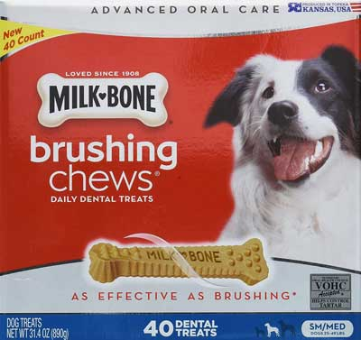 Milk Bone brushing chews reviews