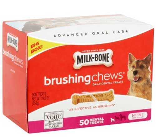 Milk Bone chewing chews 50 dental treats